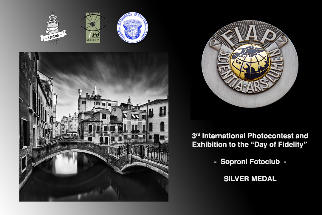 3_FIAP Silve Medal The Day of Fidelity 2014 Hungary